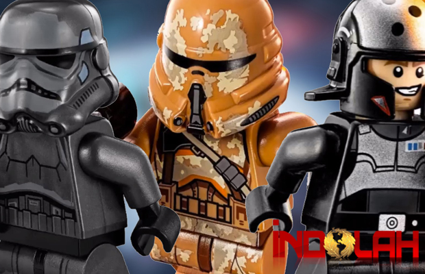 Beginilah Trailer Star Wars: The Force Awakens Versi Lego