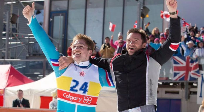 Review : Eddie The Eagle (2016)
