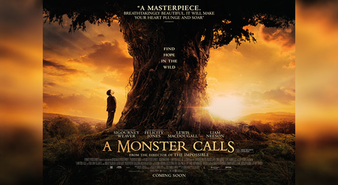 Review A Monster Calls (2016)